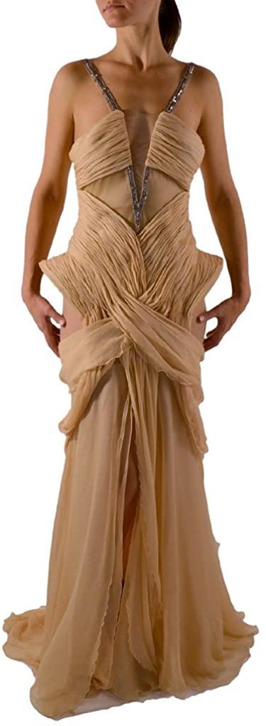 Matija Vuica Womens Luxury Evening Gown S Blush