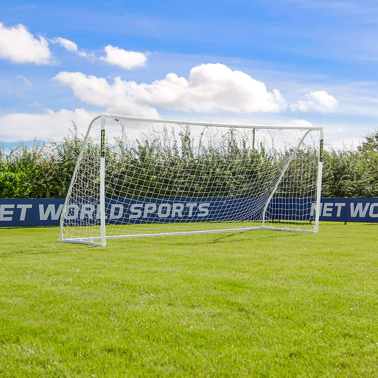 Forza 16ft x 7ft Soccer Goal & Net - The Largest Portable Soccer Goal Available! [Net World Sports]