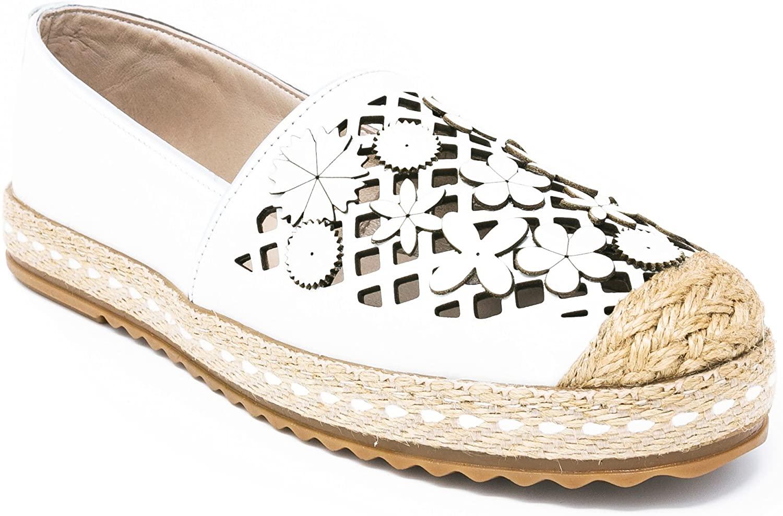 BOBERCK Pamela Collection Espadrille Women's Slip-On Loafer