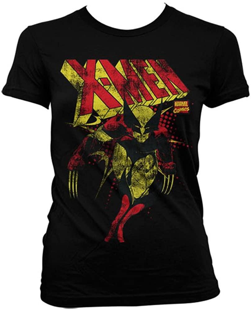 Marvel Officially Licensed Merchandise X-Men Distressed Women T-Shirt