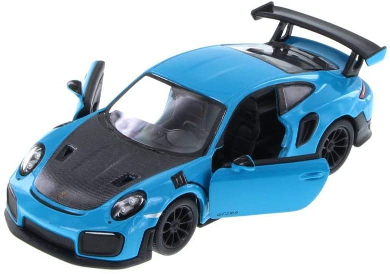 Kinsmart Porsche 911 GT2 RS Hard Top, Blue 5408D - 1/36 Scale Diecast Model Toy Car