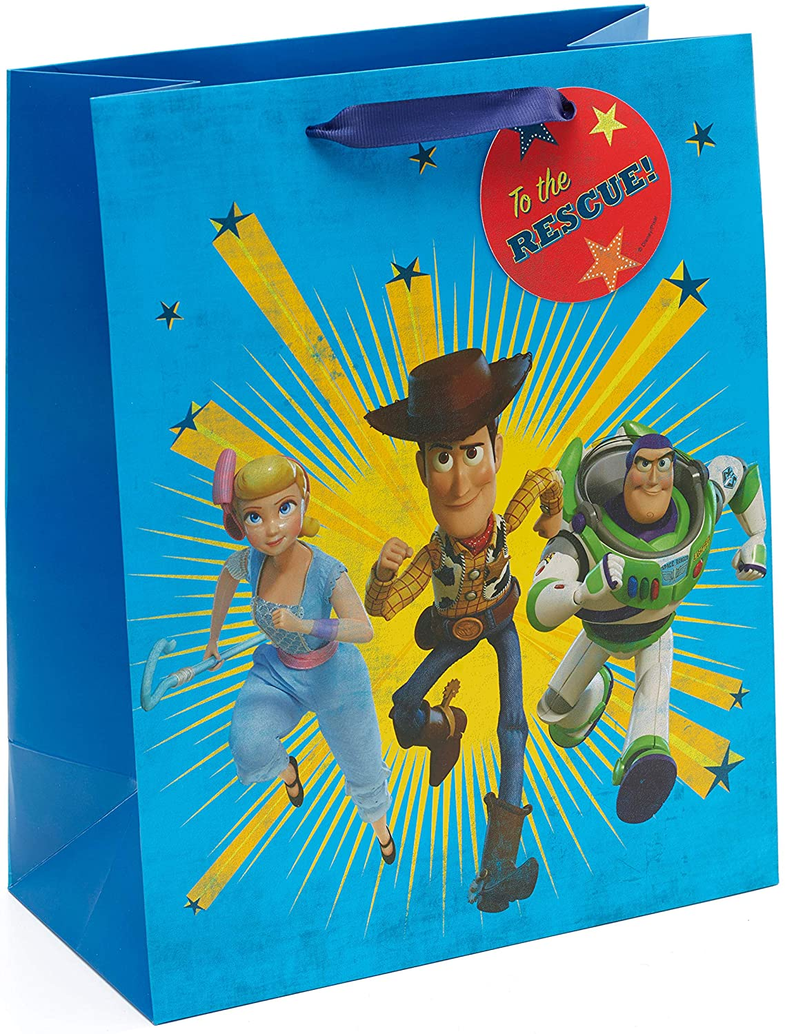 Large Birthday Gift Bag - Disney Gift Bag - Toy Story 4 - Perfect for Kids Presents