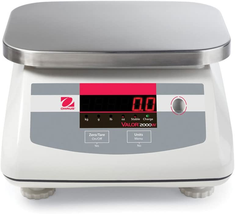 Ohaus V22XWE15T Valor 2000 Rapid-Response Food Scale-15 kg/30 lb