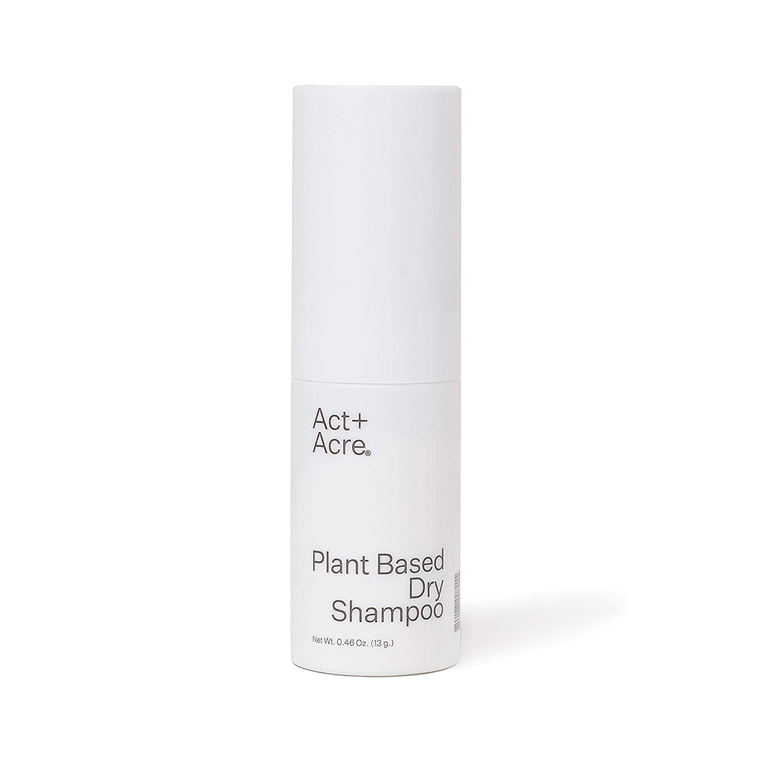 Act+Acre Plant Based Dry Shampoo | Natural and Unscented Powder Spray with Fulvic Acid and Rice to Refresh Oily Hair and Build Volume (1.2 oz / 35 mL) Talc Free and Colorless for Light and Dark Hair