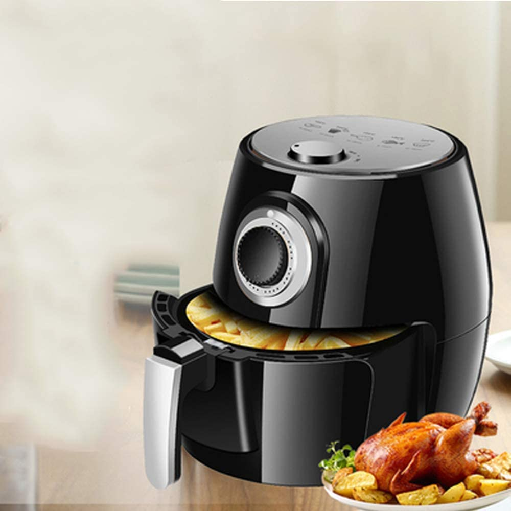 1350W 5L Health Fryer Cooker Smart Touch LCD Airfryer Pizza Oil Free Air Fryer Multi Function Smart Fryer For French Fries