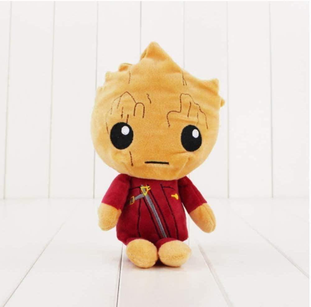 N/D Guardians Galaxy Plush Toys Stuffed Animals Tree People Rocket Raccoon Plush Kids S 20 cm Pillow
