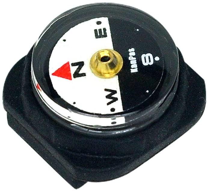 KanPas Mini Luminous Button Compass for Watch Band Lanyard