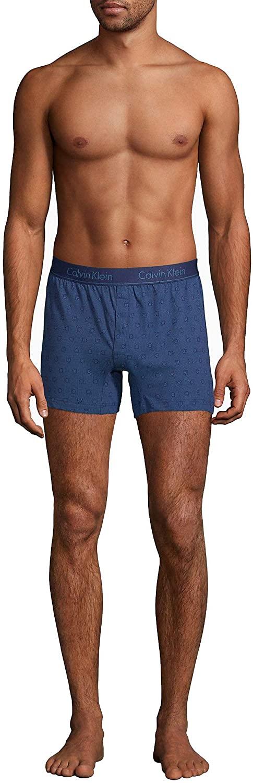 Calvin Klein Men`s Cotton Slim Fit Knit Boxer 1 Pack