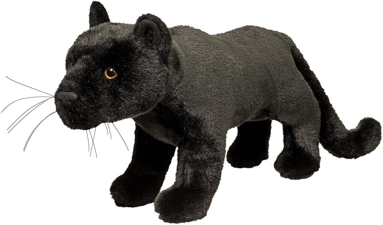 Douglas Jagger Black Panther Plush Stuffed Animal