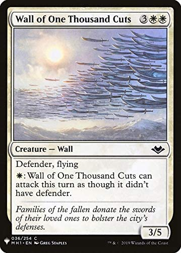 Magic: The Gathering - Wall of One Thousand Cuts - Mystery Booster - Modern Horizons