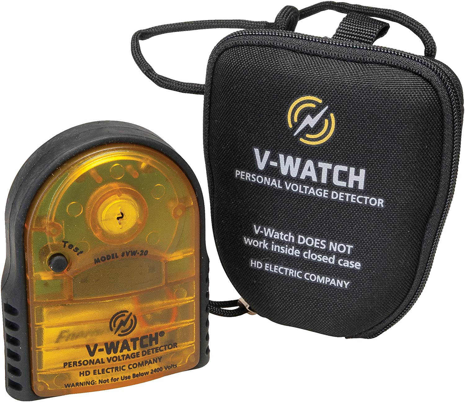 Greenlee HD Electric VW-20H V-Watch Personal Voltage Detector