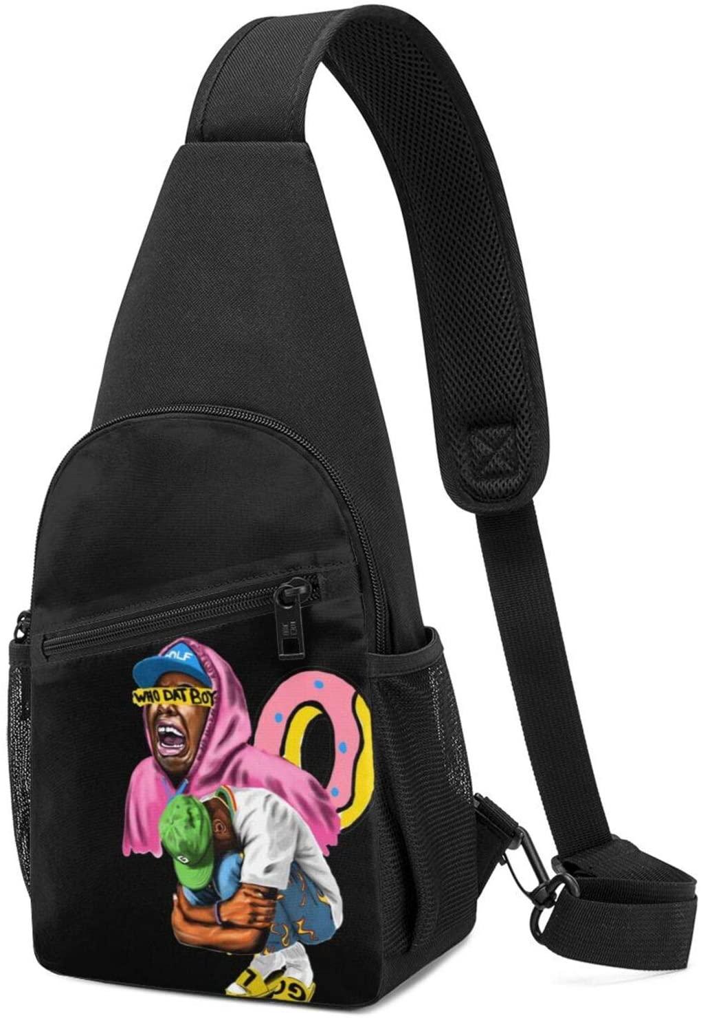 Golf Wang Tyler The Creator Rapfashion Travel Bag Chest Bag Shoulder Messenger Bag