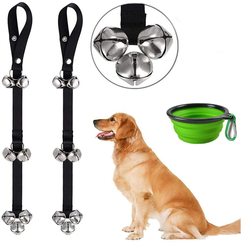CATOOP Dog Doorbells Premium Potty Training Big Dog Bells Adjustable Dog Bells for Potty Training Your Puppy Easily - Premium Quality - 7 Extra Large Loud Dog Bells