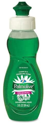 PALMOLIVE 1417 Dishwashing Liquid, Original Scent, 3oz Bottle, 72/Carton