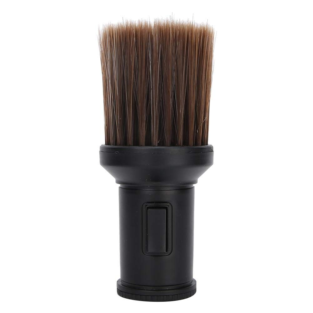 Shaving Brush, Hair Shaving Brush, Multifunctional Hair Sweep Barber Shop Beard Shaving Hair Cutting(black)
