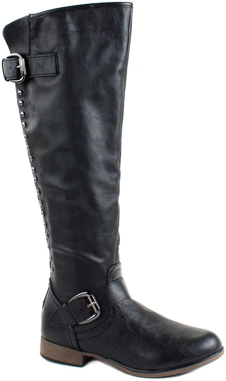 Forever Women's Legend-24S Black Boots 6 D(M) US