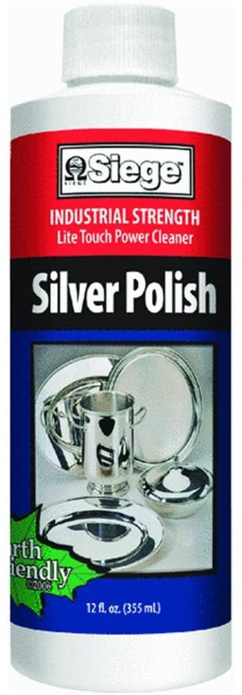Siege Chemical 763L Professional Silver Polish and Cleaner