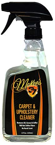McKee's 37 MK37-312 Carpet & Upholstery Cleaner (Removes Coffee Stains, Wine, Ketchup, Food, Drinks), 22 fl. oz.