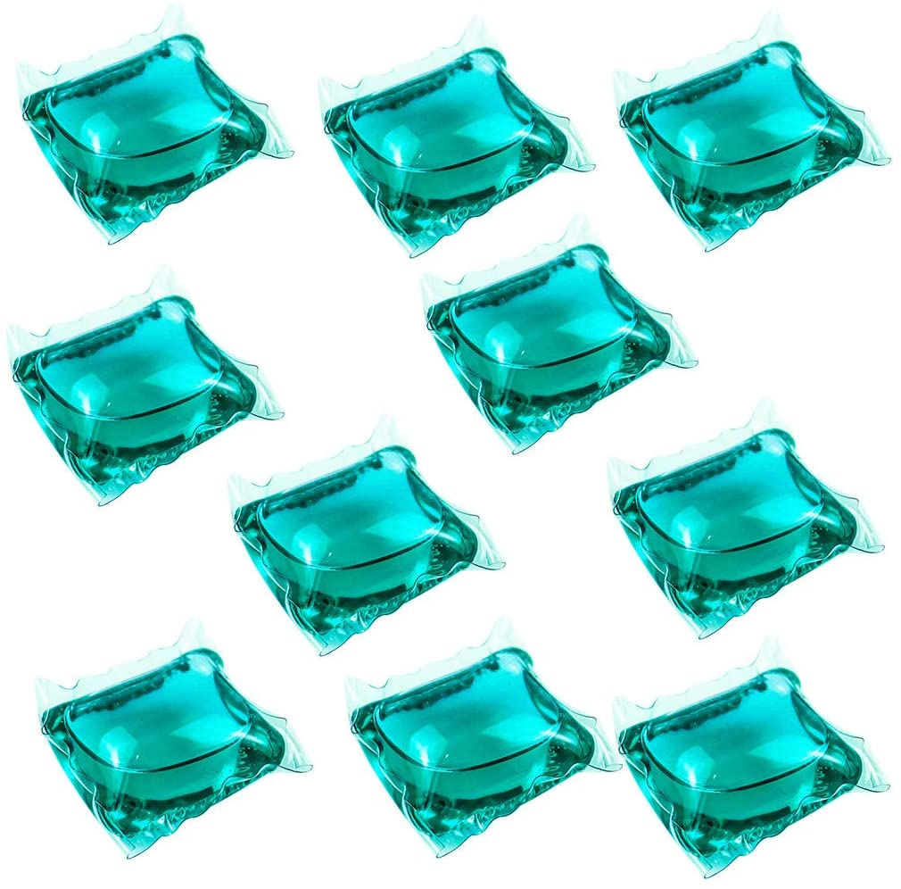 Laundry Pods Laundry Gel Lasting High Efficiency Laundry Detergent Color Cleaning 10PC 8ML Home & Garden Cleaning Supplies