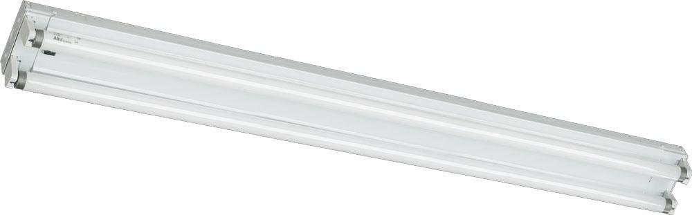 Quorum 89324-2-6 24.25 Inch Two Light Flush Mount, White Finish