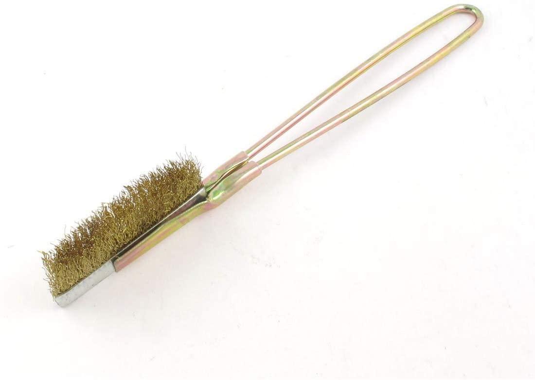 Utoolmart 65mm Diameter Copper Wire Cleaning Brush 225mm Length 1Pcs
