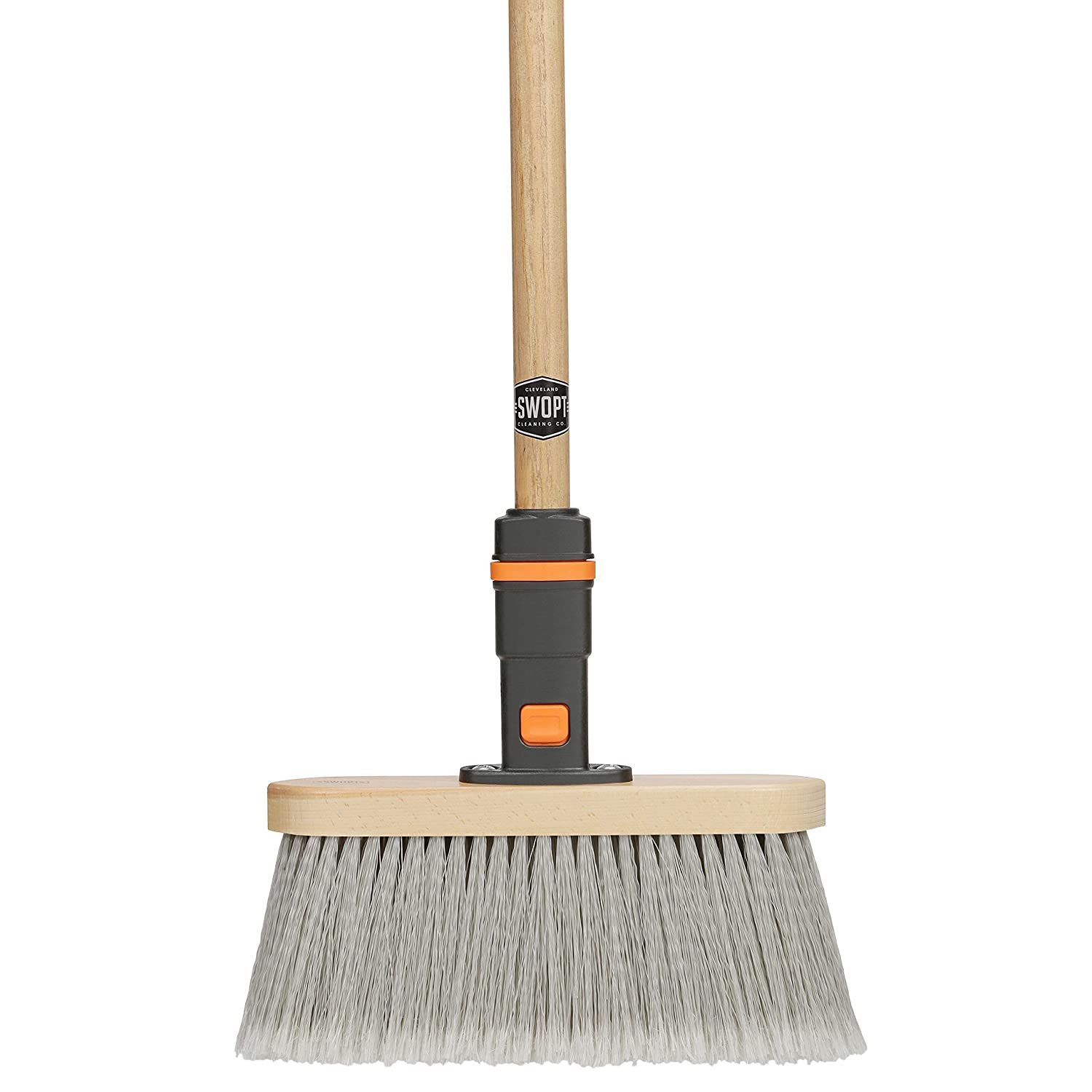SWOPT Premium Straight Broom for Smooth Surfaces – 48