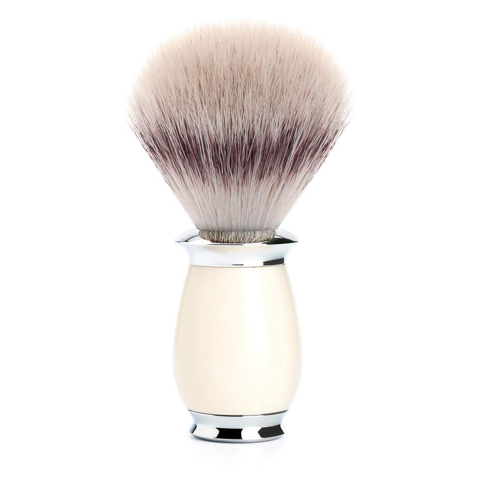 MÜHLE PURIST Ivory Resin Silvertip Fiber Shaving Brush