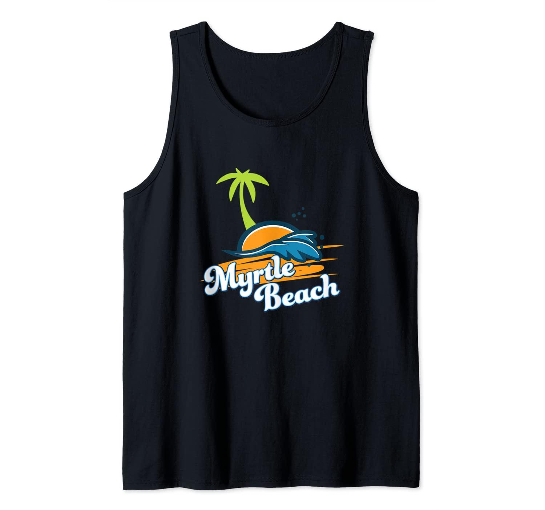 Myrtle Beach SC Summer Vacation Souvenir Tank Top