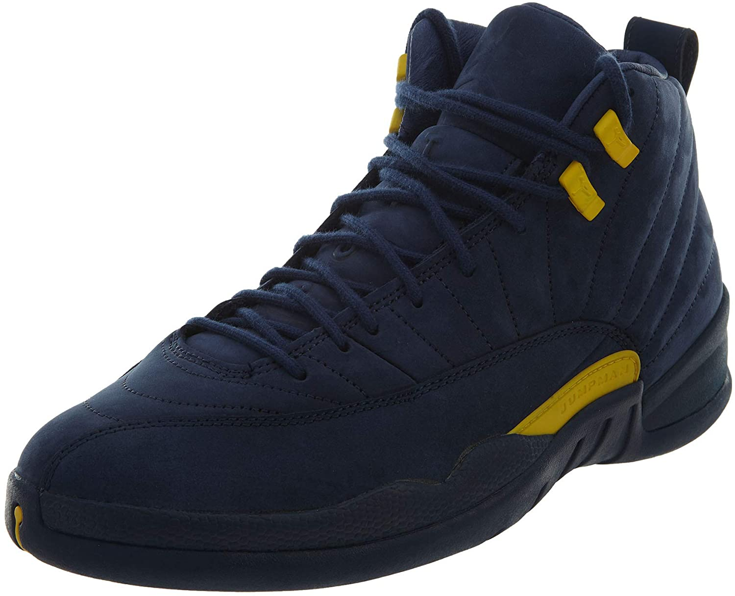 AIR JORDAN 12 RTR Michigan Nrg 'Michigan' - Bq3180-407 - Size