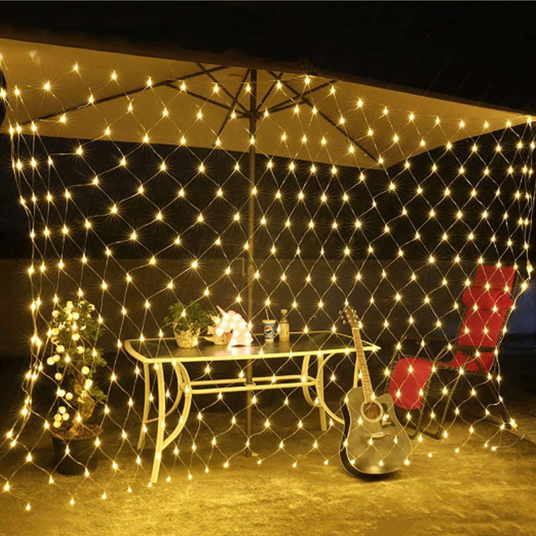Dorakitten Net Light Decorative Flashing LED Fairy Light Party Curtain Light for Christmas Party Decoration