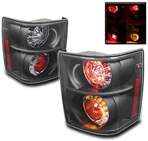 ZMAUTOPARTS LED Rear Tail Brake Lights Lamps Black For Land Rover Range Rover Hse Suv