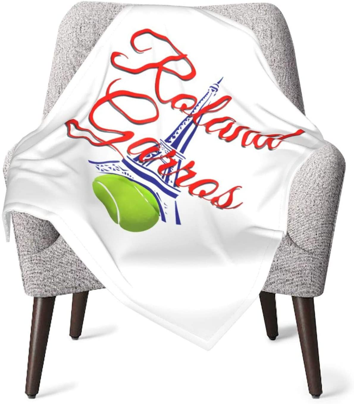 Tubdr Ro=Landgarros Soft Breathable Comfortable Lightweight and Warm Baby Blankets