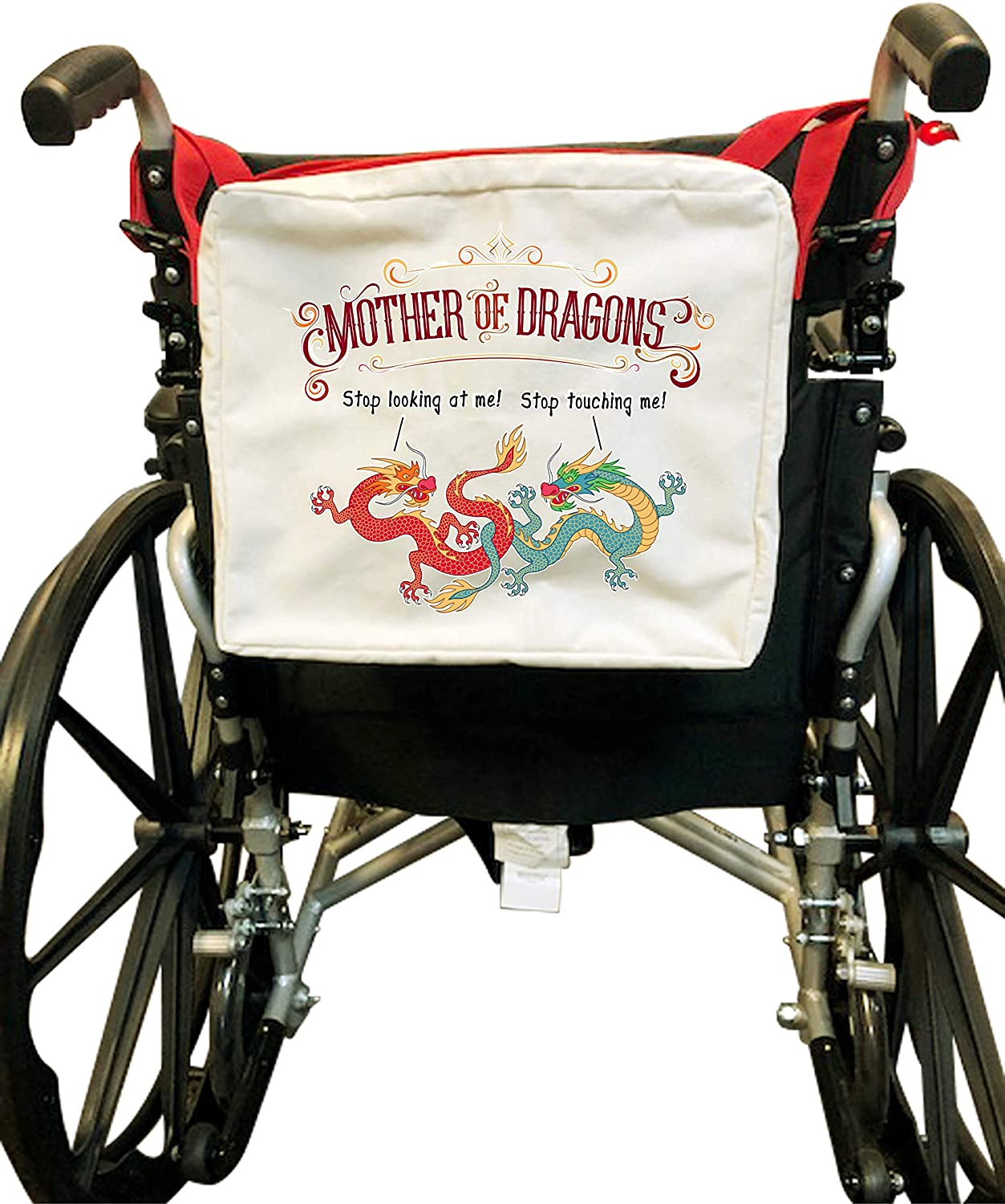 Mother of Dragons - Red Handed Wheelchair/Walker Bag (Bag Only)