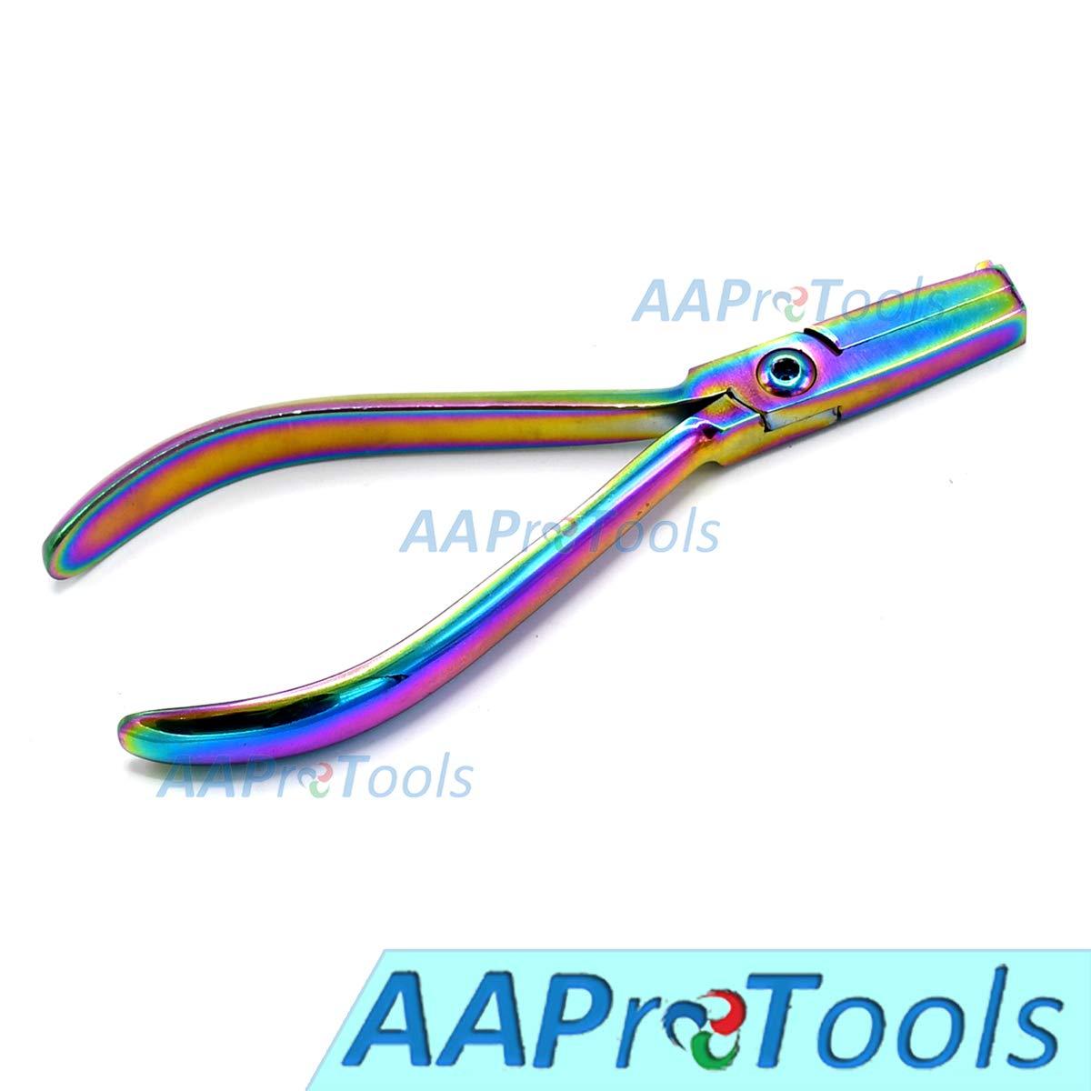 AAProTools Ligature Forming Plier Multi Titanium Rainbow Color Orthodontic Instruments