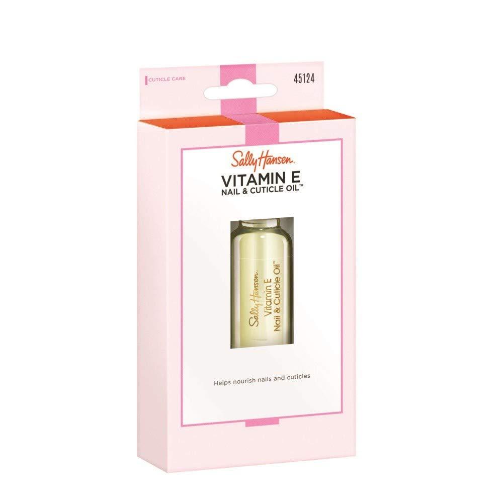 Sally Hansen Vitamin E Nail & Cuticle Oil Nail Treatment (Pack of 4)