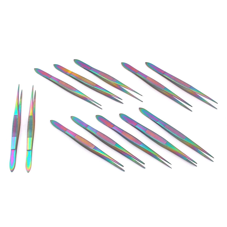 Precise Canada: Set of 12 Splinter Forceps Fine Point 3.5
