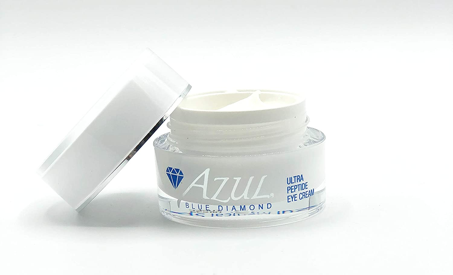 Azul Blue Diamond Ultra Peptide Eye Cream For Anti Aging, Easing Eye Bags, Dark Circles And Fine Wrinkles, Advanced Eye Treatment With Skin-nourishing Peptides, Aloe And Jojoba (0.5 fl oz)