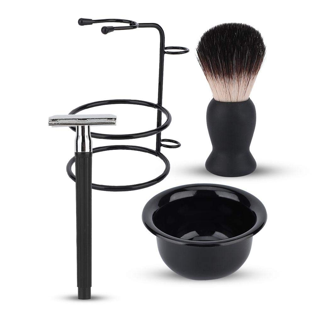 Shaving Set, Mustache Shaving Tool Men Beard Shaving Set Shaving Brush, for Men Shaving