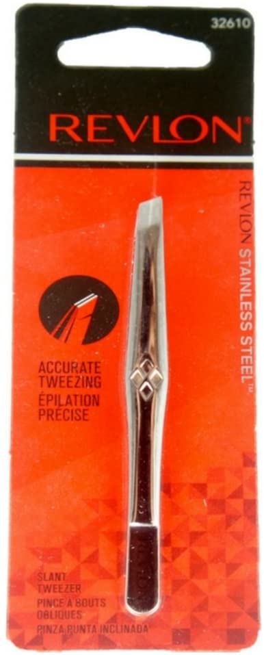 Revlon Stainless Steel Accurate Tweezing 1 ea ( Pack of 4 )