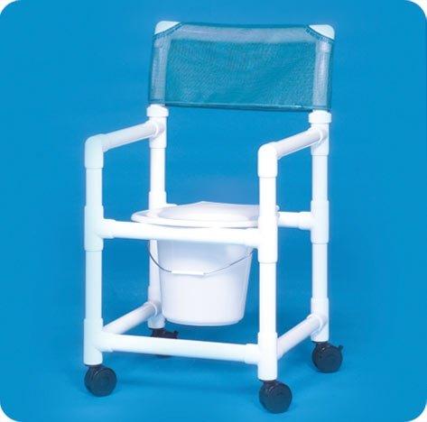 Standard Line Slant Seat Shower Chair Commode - VLSC16P - 38