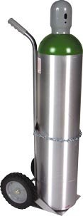 Medical M Oxygen Tank Cart - Holds Cylinders Between 7'' - 8'' Diameter (Tank NOT Included)