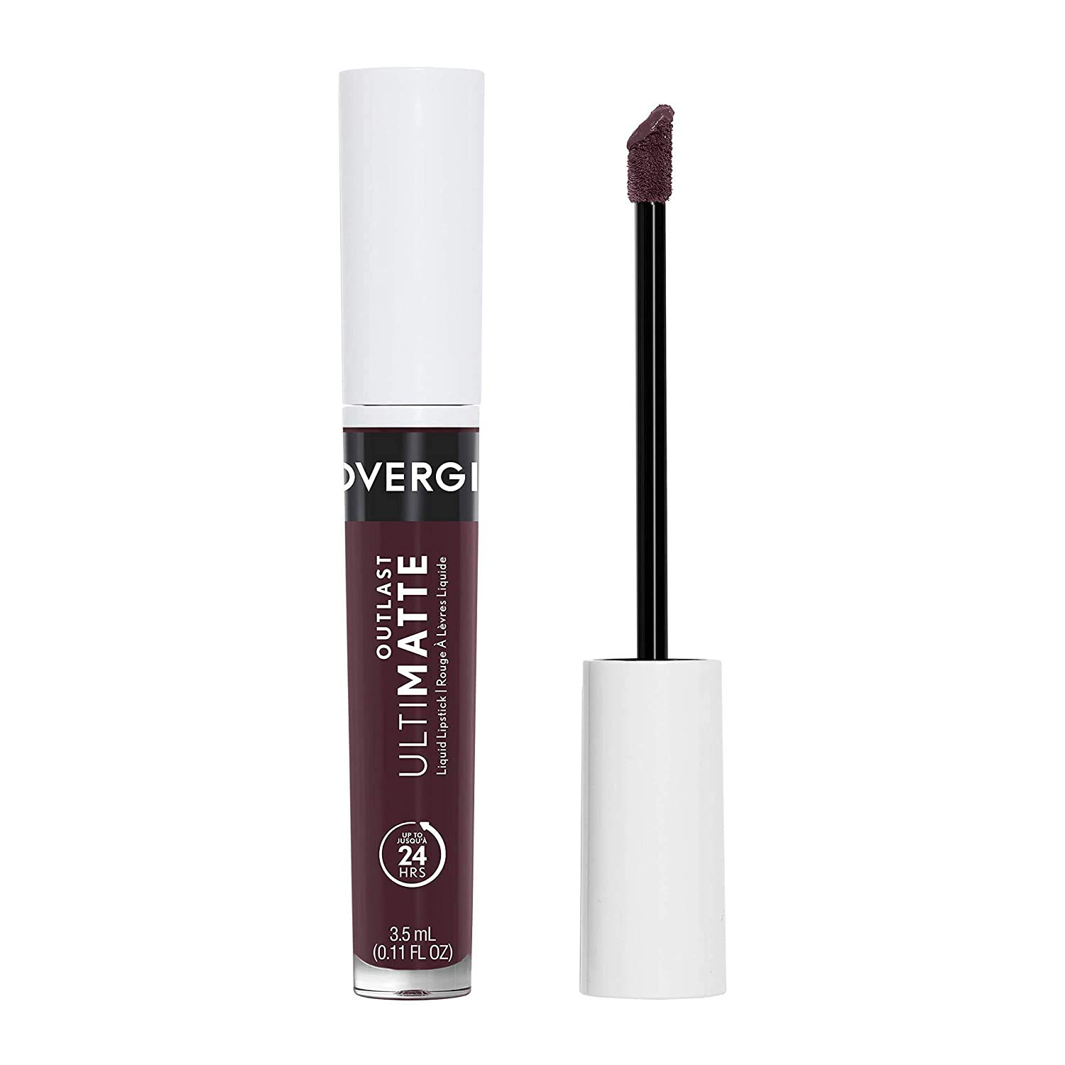 COVERGIRL COVERGIRL Outlast Ultimatte One Step Liquid Lip Color, Cabernet With Bae, Cabernet with Bae, 0.12 Fl Ounce