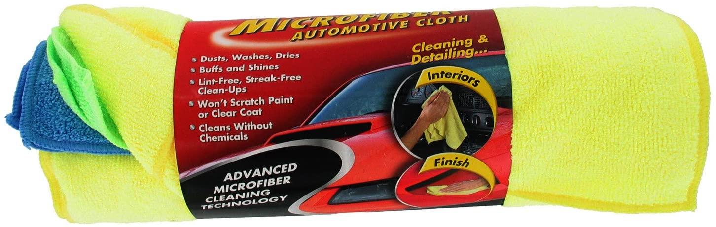 Microfiber Automotive Cloth (Set of 6)