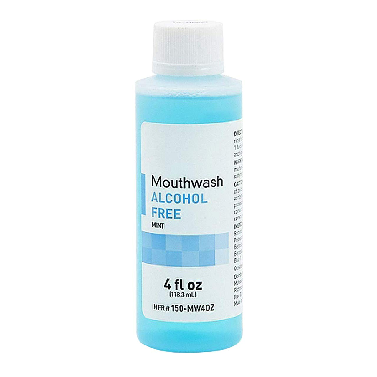 AMZ Mint Flavor Mouthwash Oral Rinse 4 oz. Mint Mouth Rinse for Oral Hygiene Alcohol-Free Flavored Breath Freshener for Dental Care Safe to use.