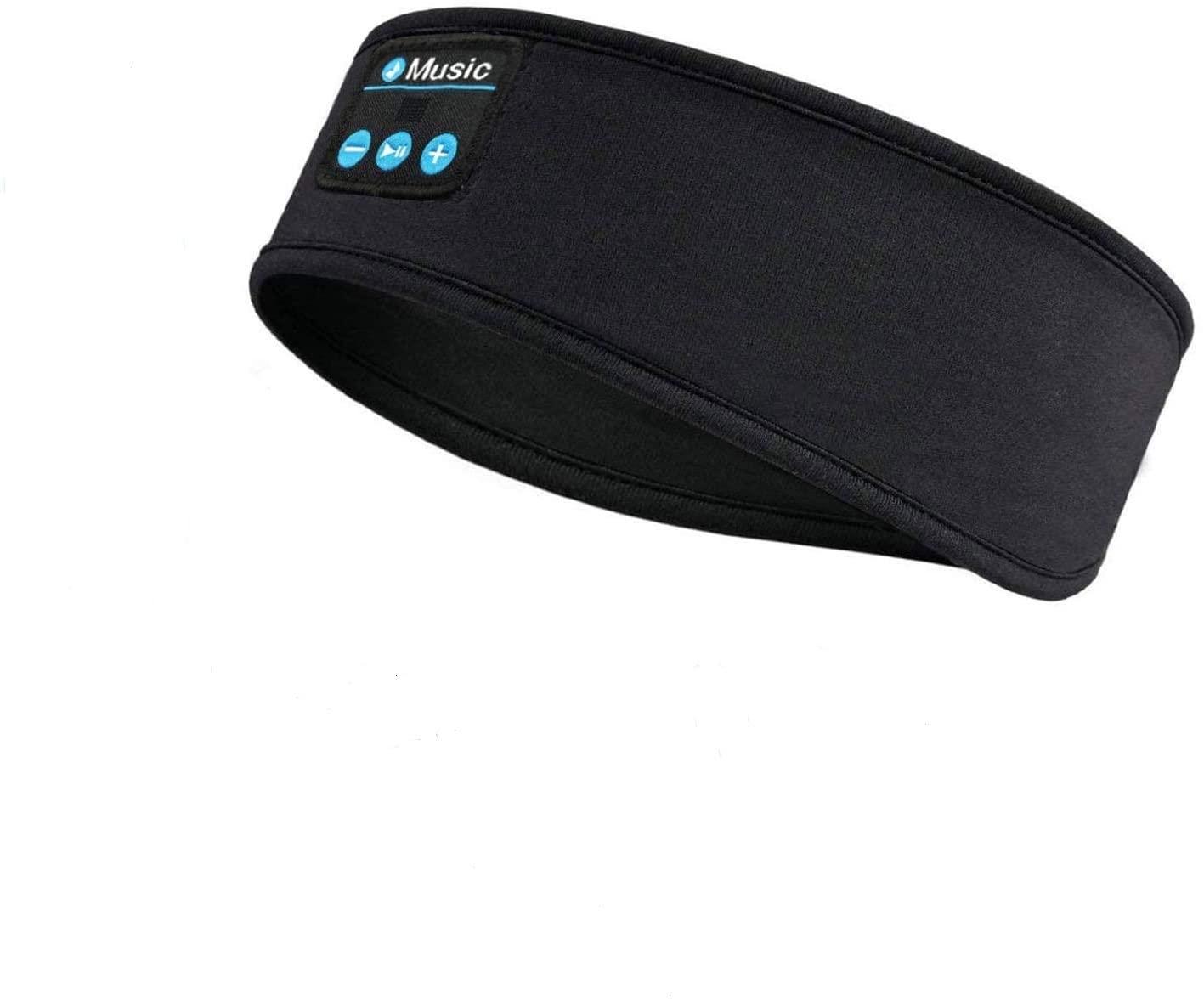 Sleep Headphones Bluetooth Headbands, Wireless Music Sports Headband Headphone - Soft Sleeping Headsets with Ultra -Thin Speakers for Side Sleeper, Workout, Running, Yoga