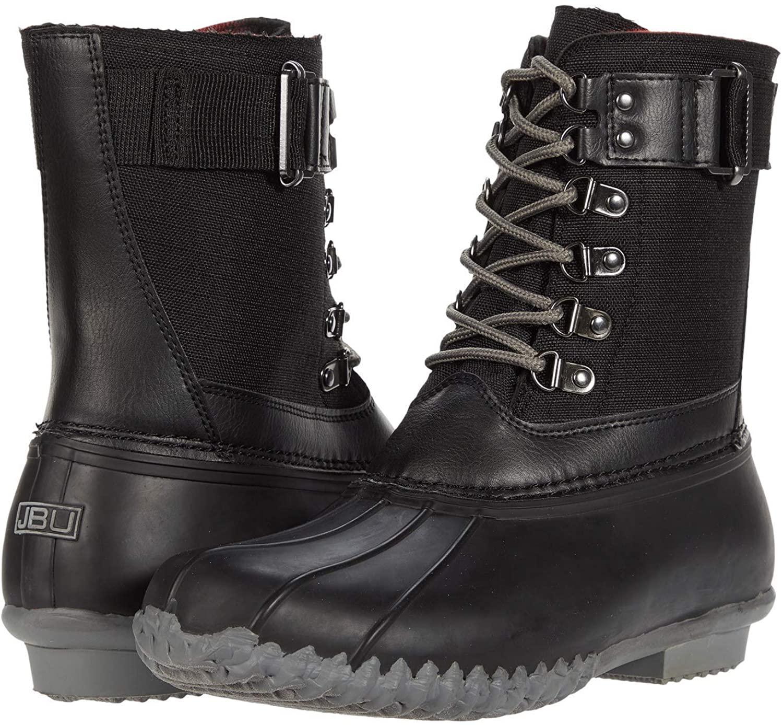 JBU by Jambu womens Rain Mid Calf Boot, Black, 7.5 US