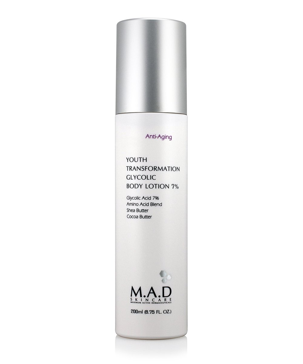 M.A.D Skincare Youth Transformation Glycolic Body Lotion 7% 200 ml.