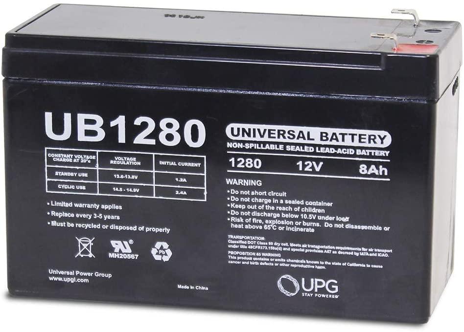 Universal Power Group 12V 8Ah Razor EcoSmart Metro Electric Scooter Battery