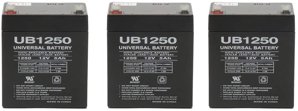 12v 5.4ah 5Ah Battery Razor E100 Electric Scooter Gas - Not Compatible with Power Core E100-3 Pack