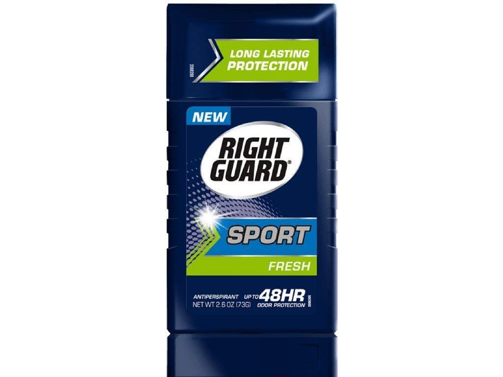 Rt Gd Ap Sld Frsh Size 2.8z Right Guard 48H Sport Fresh Invisible Solid Antiperspirant Deodorant